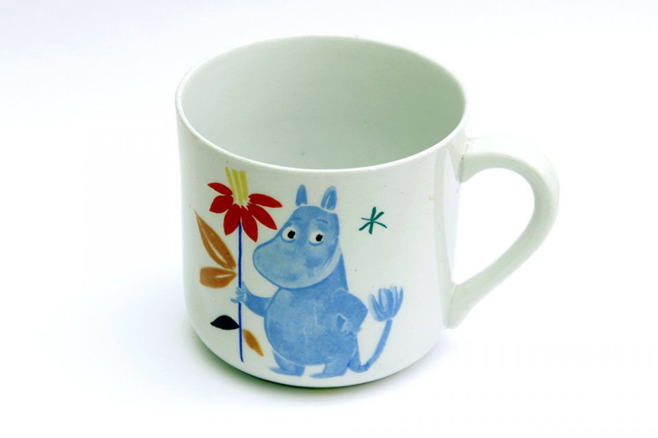 Moomin mug 1950s