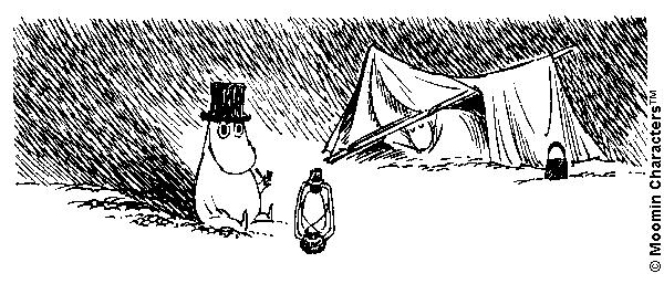 Moominpappa camp