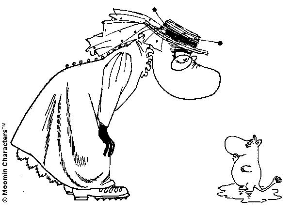 Moominpappa young
