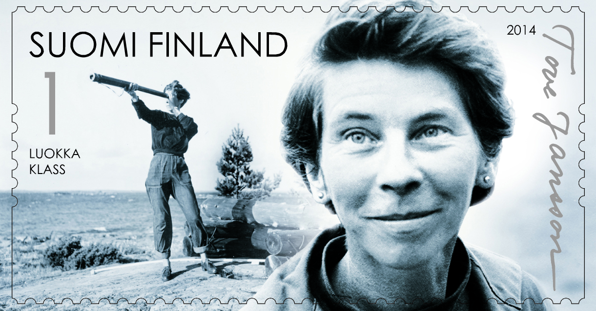 Tove Jansson post stamp_featured