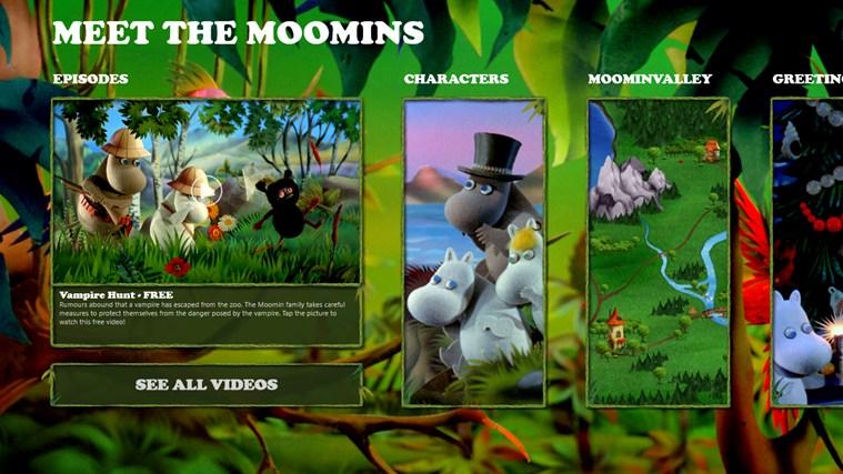 Meet the Moomins