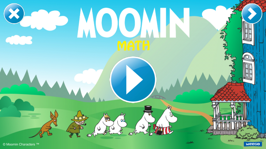 Moomin Math game