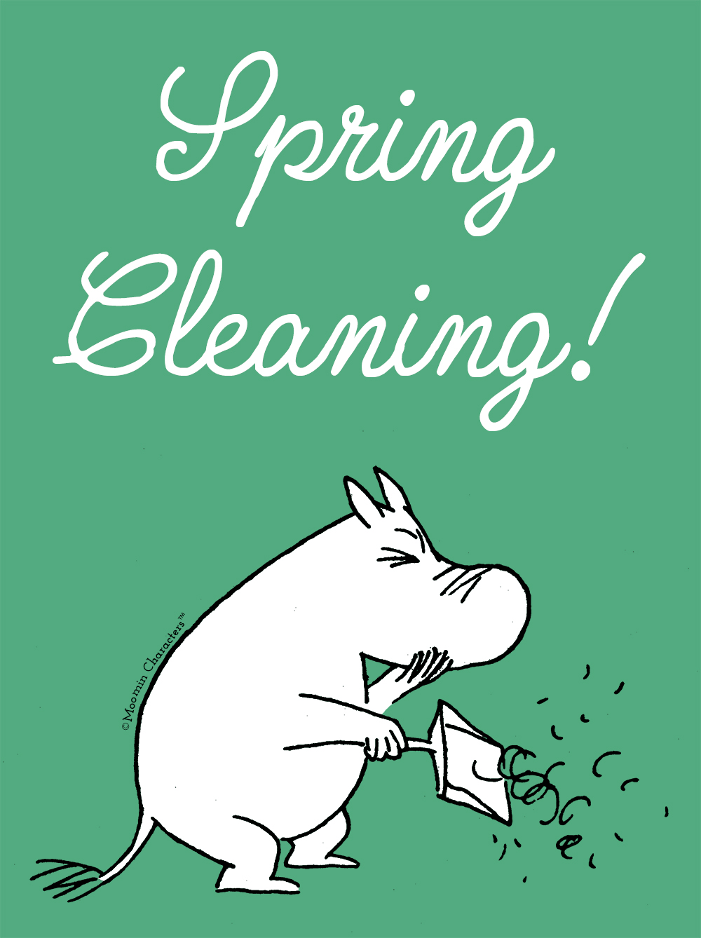 Spring cleaning with Moomin - Moomin