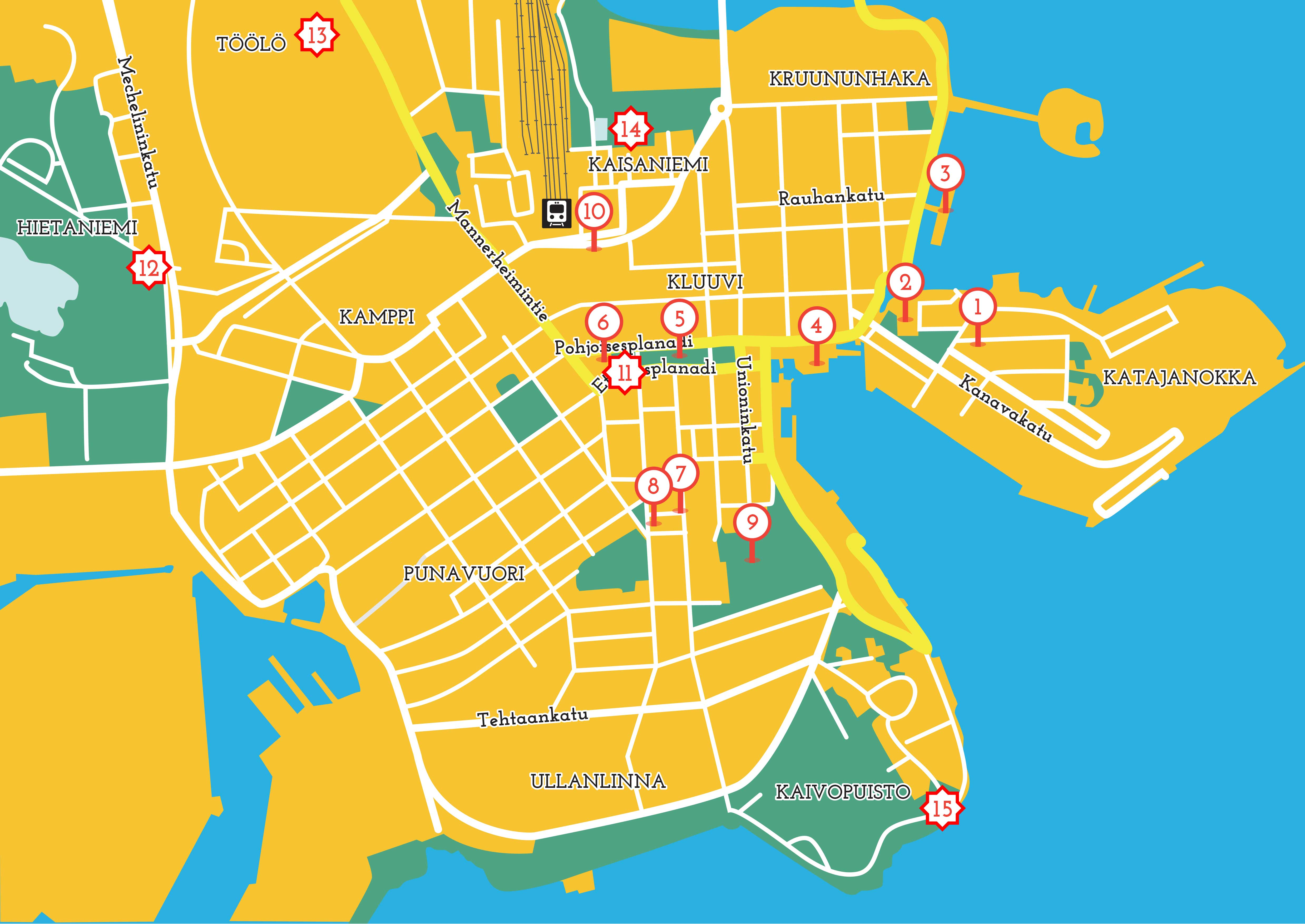 Discover Tove Jansson S Life And Art Through This Map Of Helsinki