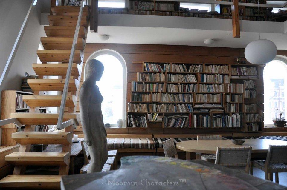 Tove Jansson studio in Helsinki