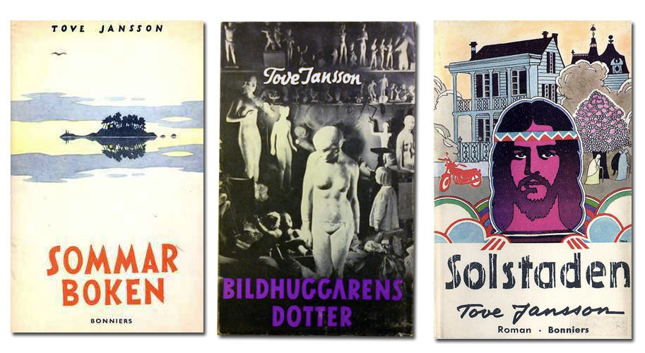 Tove Jansson Three adult books