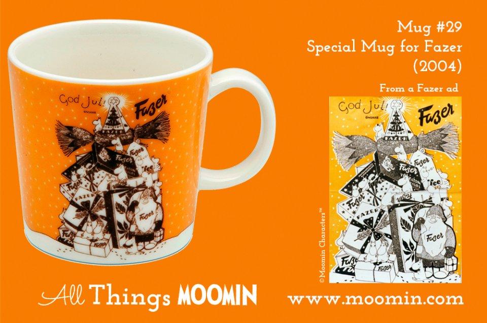 29 Moomin mug Fazer