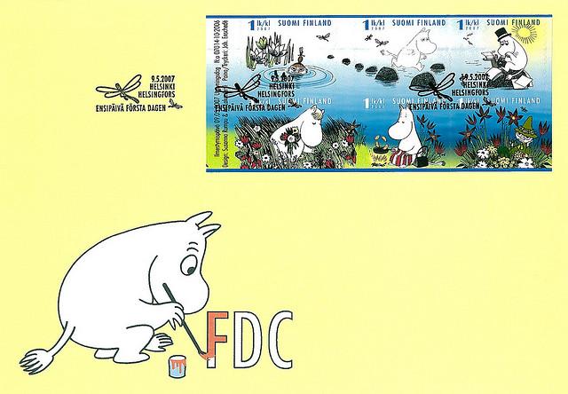 FI_Moomin_FDC_2007
