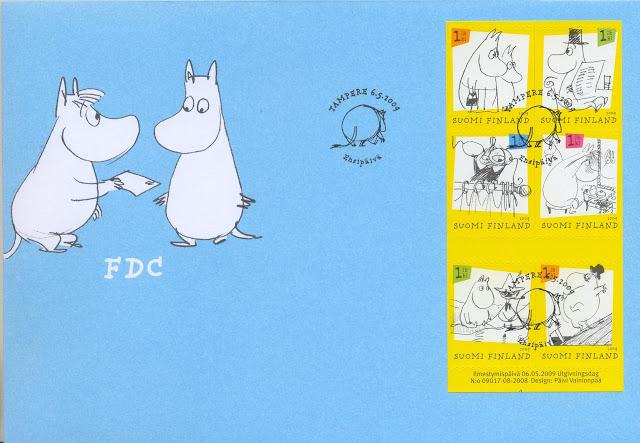 FI_Moomin_FDC_2009
