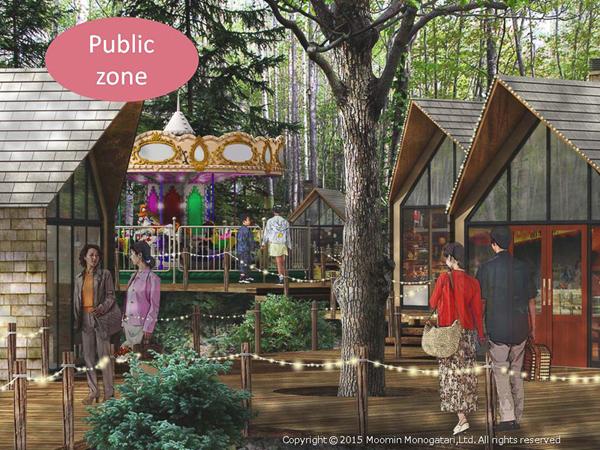 Moomin theme park Japan 2
