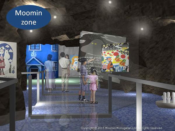 Moomin theme park Japan