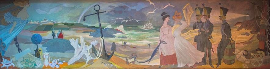 Mural by Tove Jansson_1952 hamina