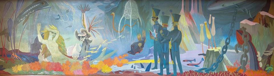 Mural by Tove Jansson_1952 hamina_Tarina Merenpohjasta