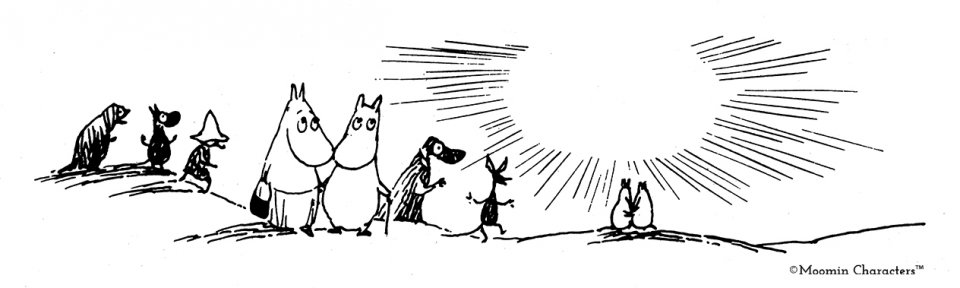 Comet in Moominland_family