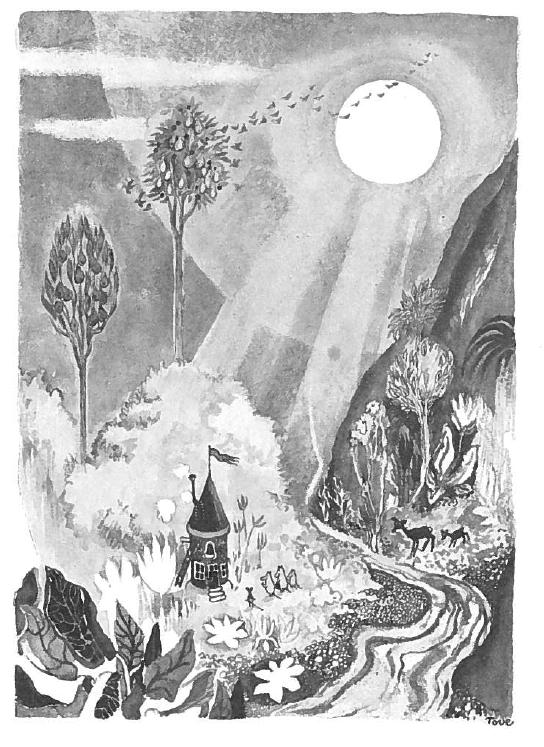 Moomins and the Great Flood_Moominvalley