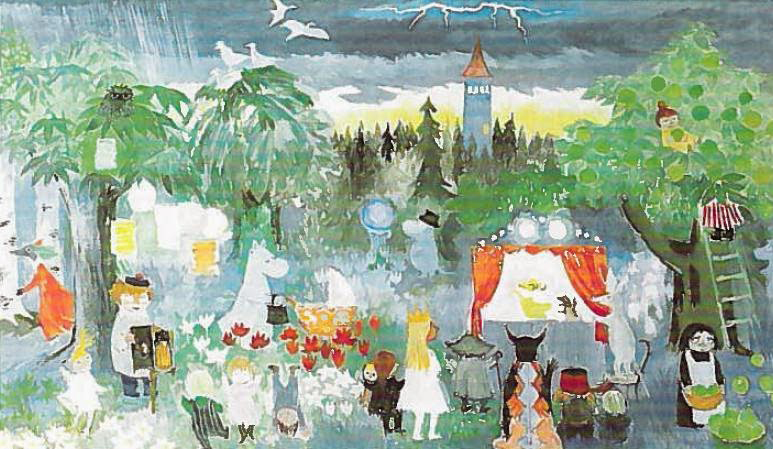 Tove Jansson_Pori_1984_draft_spring