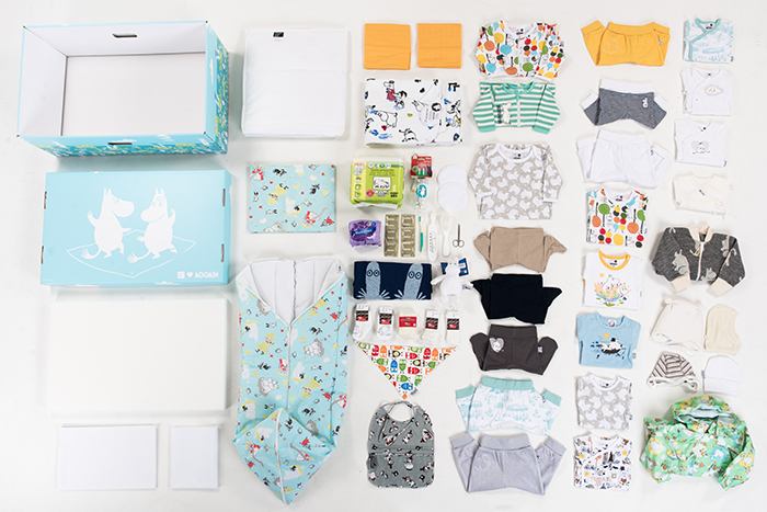Moomin Edition Finnish Baby Box Products_small