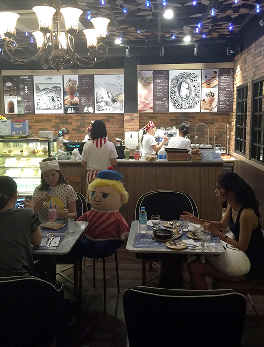 Moomin Cafe Thailand 2