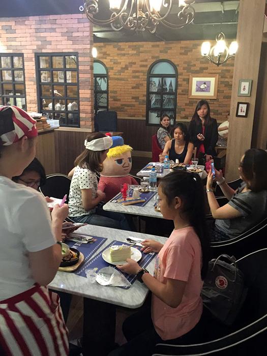 Moomin Cafe Thailand 3