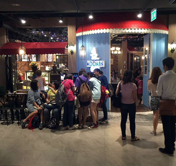 Moomin Cafe Thailand 4