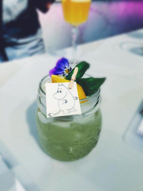 Helsinki Cocktail - moomin sour