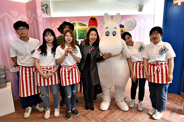 Moomin & me cafe opening_3
