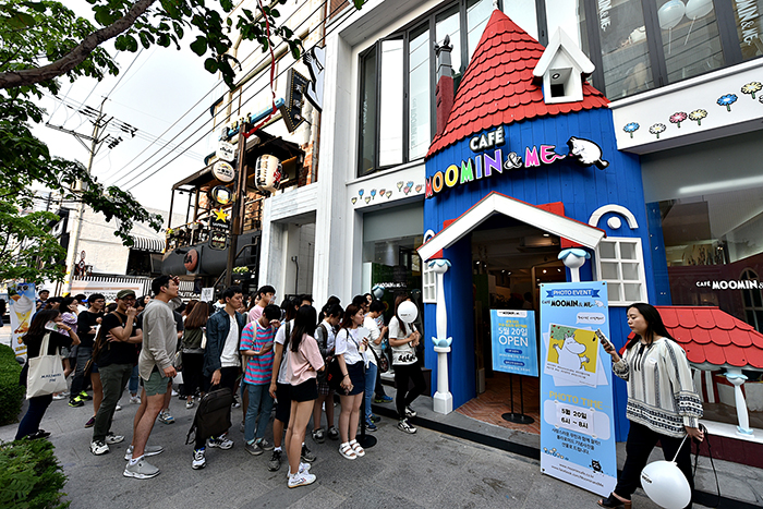 Moomin & me cafe opening_4