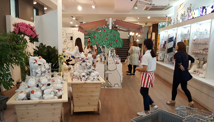 Moomin & me cafe opening_7