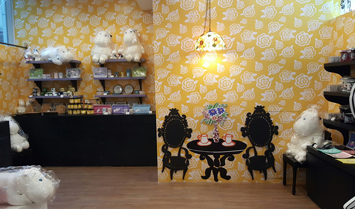 Moomin & me cafe opening_8