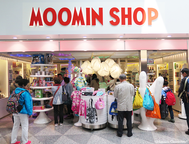 Moomin Shop Helsinki Airport 2
