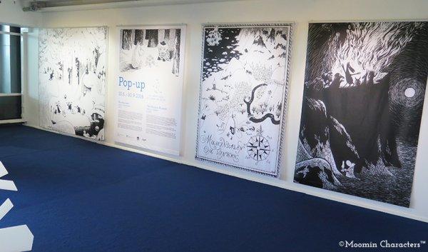 Moomin pop up museum at helsinki airport 1
