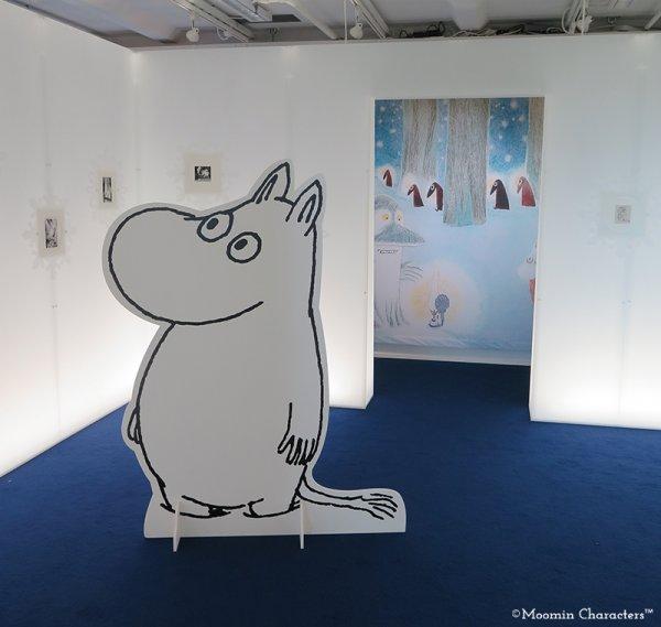 Moomin pop up museum at helsinki airport 3