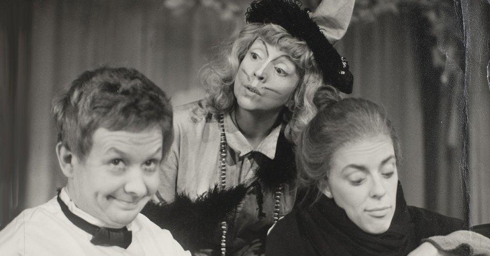 Troll i kulisserna Lilla Teaterns 1958