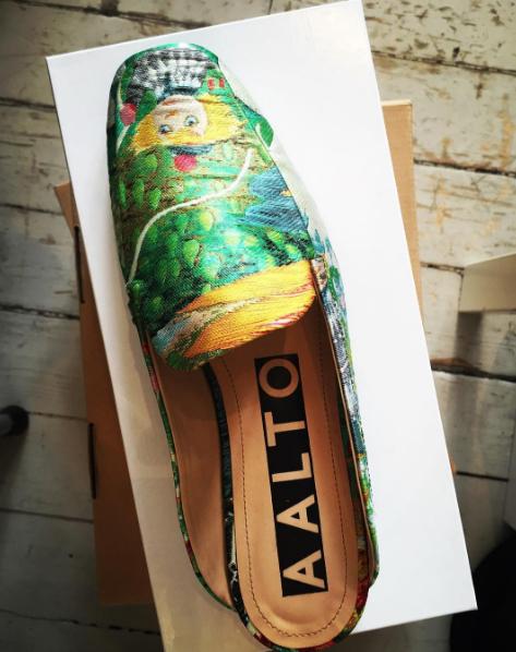 Moomin shoe AALTO spring summer 17
