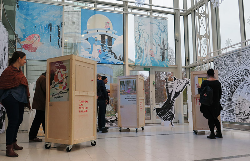 Making of Moomin Museum exhibition 2