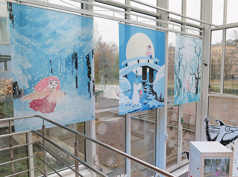 Making of Moomin Museum exhibition 4