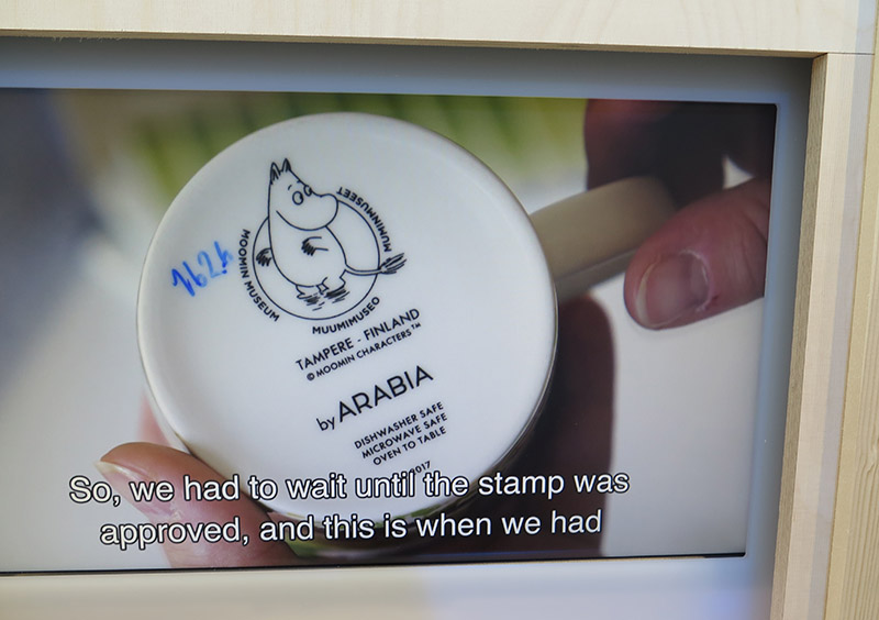 Making of Moomin Museum exhibition 7