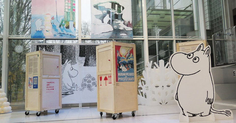 Making of Moomin Museum exhibition Tampere