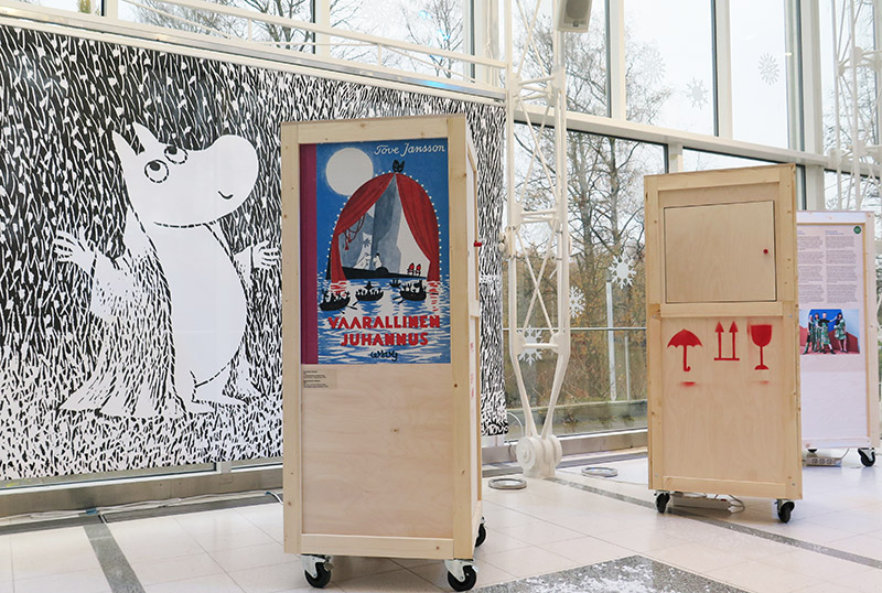 Making of Moomin Museum exhibition