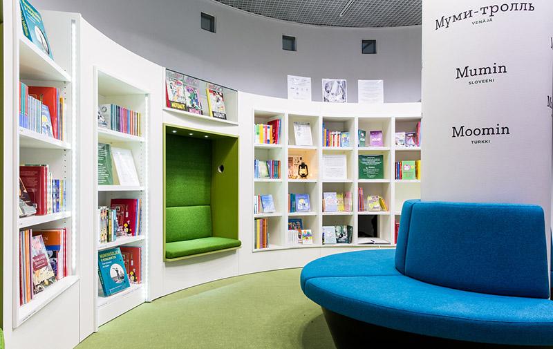 Moomin Museum Reading Room 2_Jari Kuusenaho_Muumimuseo