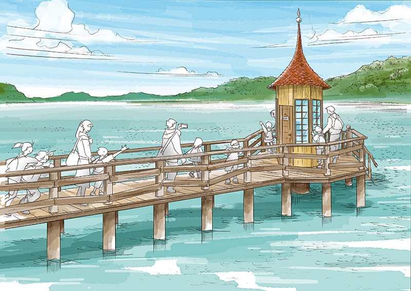 Moominvalley Park Japan_Sea_Bath house