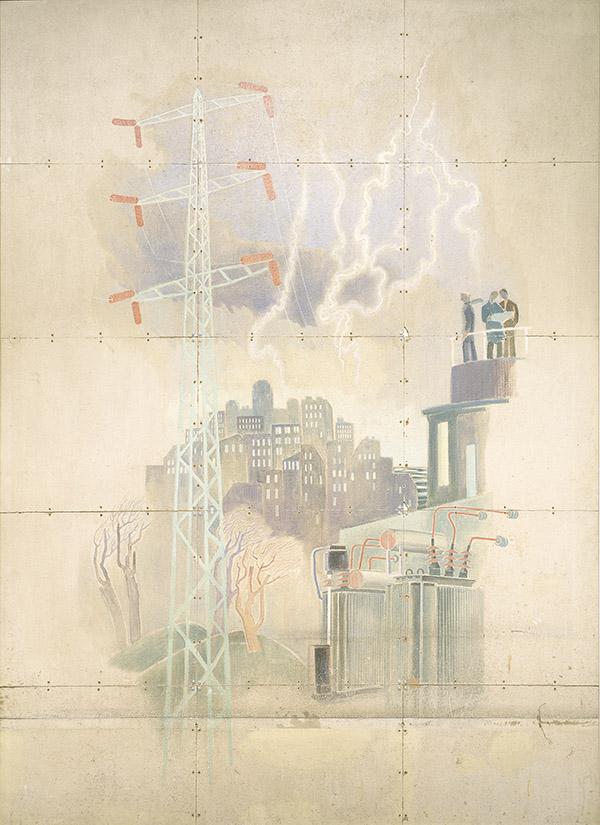 Tove Jansson sahko 1945