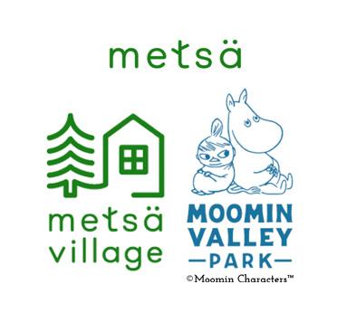 Metsä Metsä Village Moominvalley Park logos