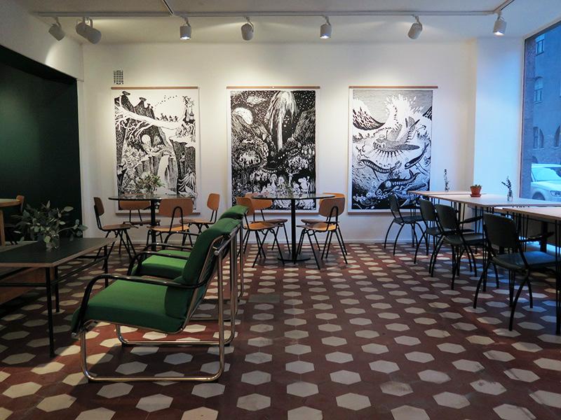 Mumin Kaffe Liisankatu Helsinki