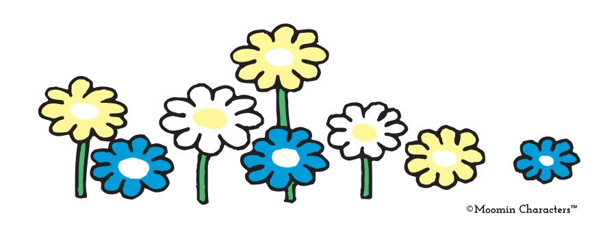 Moomin Flowers