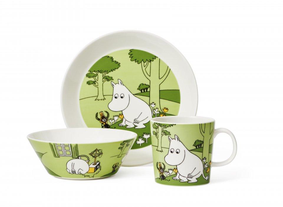Moomintroll Grass Green Group