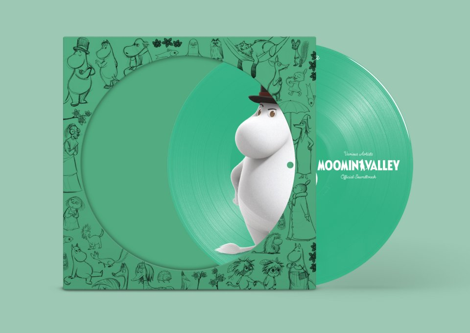 Moominvalley Soundtrack Green Moominpappa