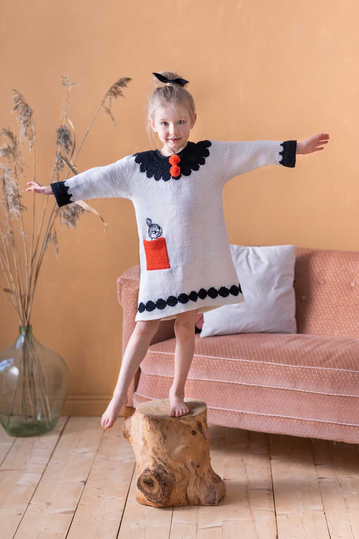 Moomin-x-Novita-Dress-Little-My-Cute