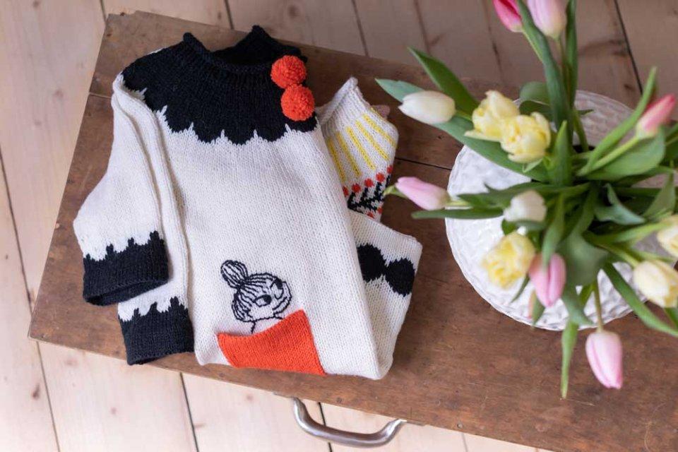 Moomin-x-Novita-Little-My-Pullover