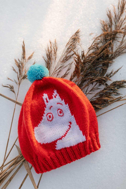 Moomin-x-Novita-Wool-Beanie